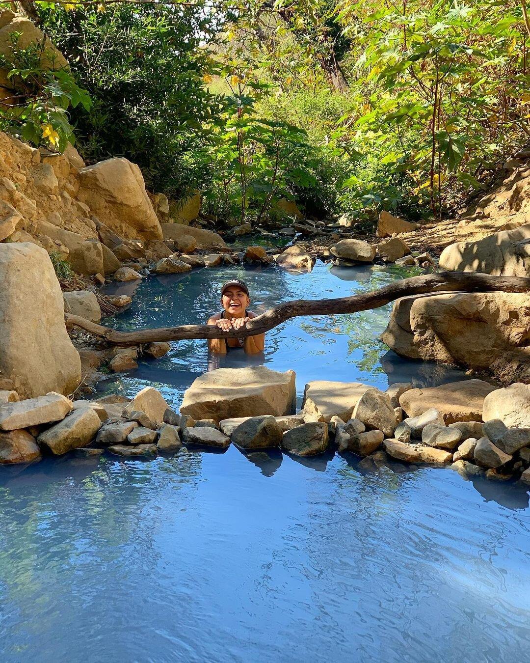 the best natural hot spring in santa