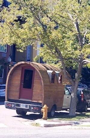 A home on wheels!