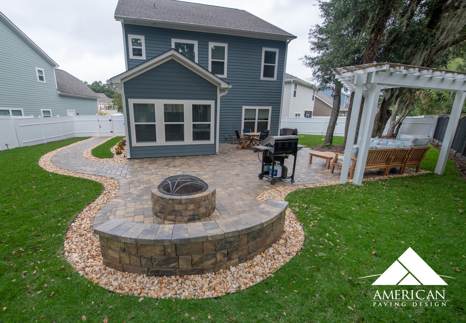 paver patio company bluffton sc american paving design