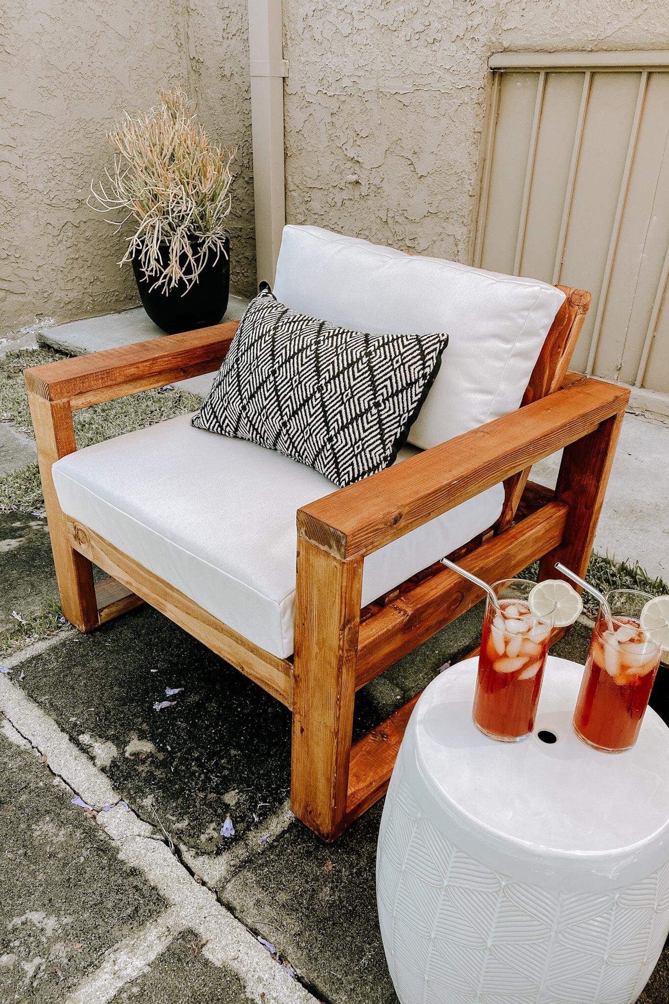 diy patio chairs xo macenna