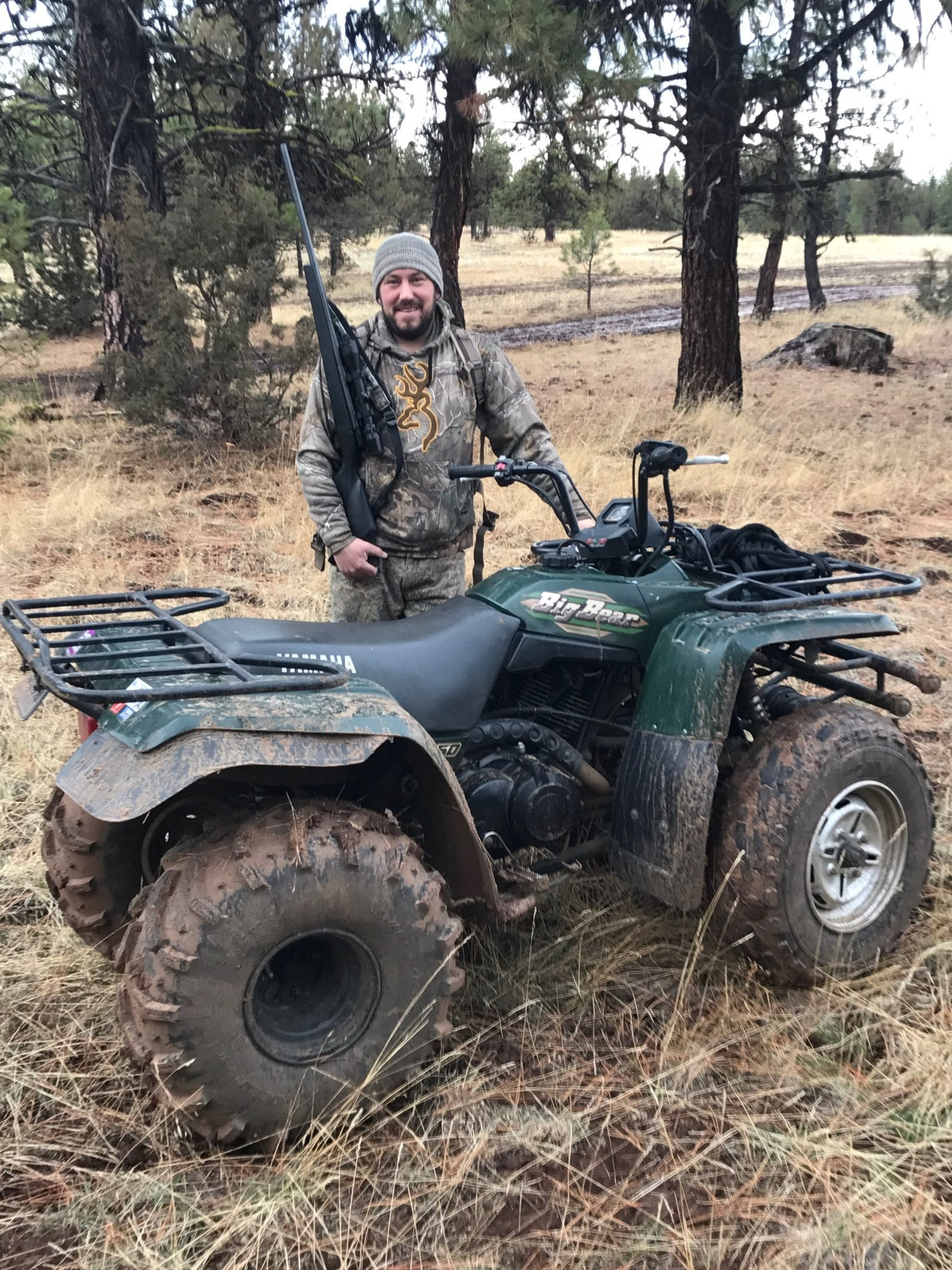"""""""The outdoors was his sanctuary,"""" Nathan Eckles said of his younger brother Ian, an avid hunter and fisherman. Ian Eckles, 41, of Kent, disappeared May 16 on a hunting trip in rural Kittitas County. A suspect was arrested and charged with second-degree murder in Eckles' death, but searchers have yet to find Eckles' body.  (Courtesy of / the Eckles family)"""