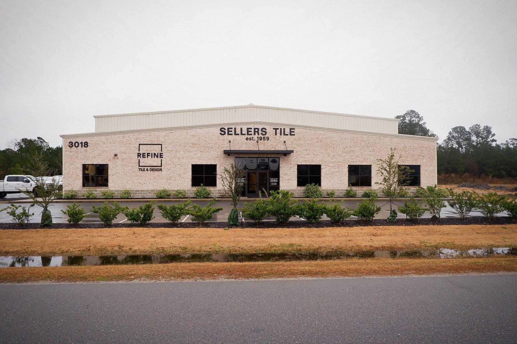 sellers tile custom counters