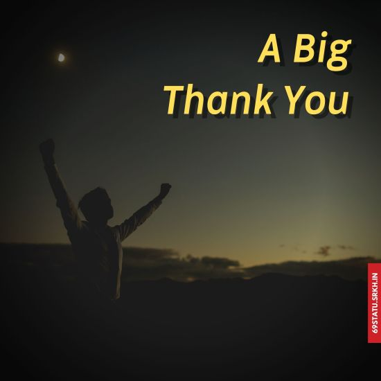 A Big Thank You Images