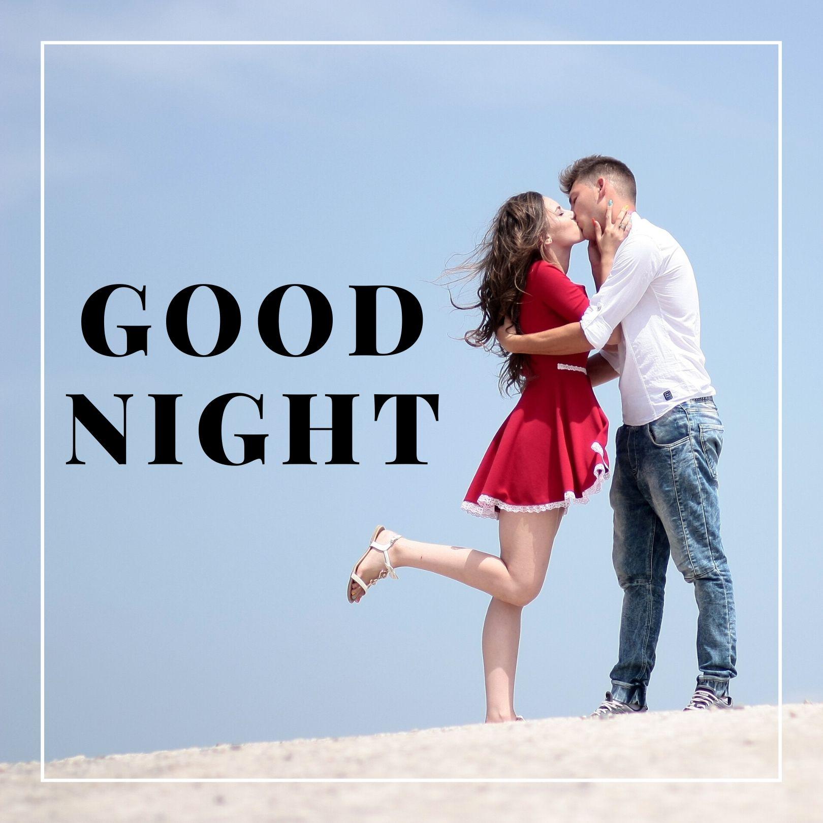 Good Night Kiss image full HD free download.