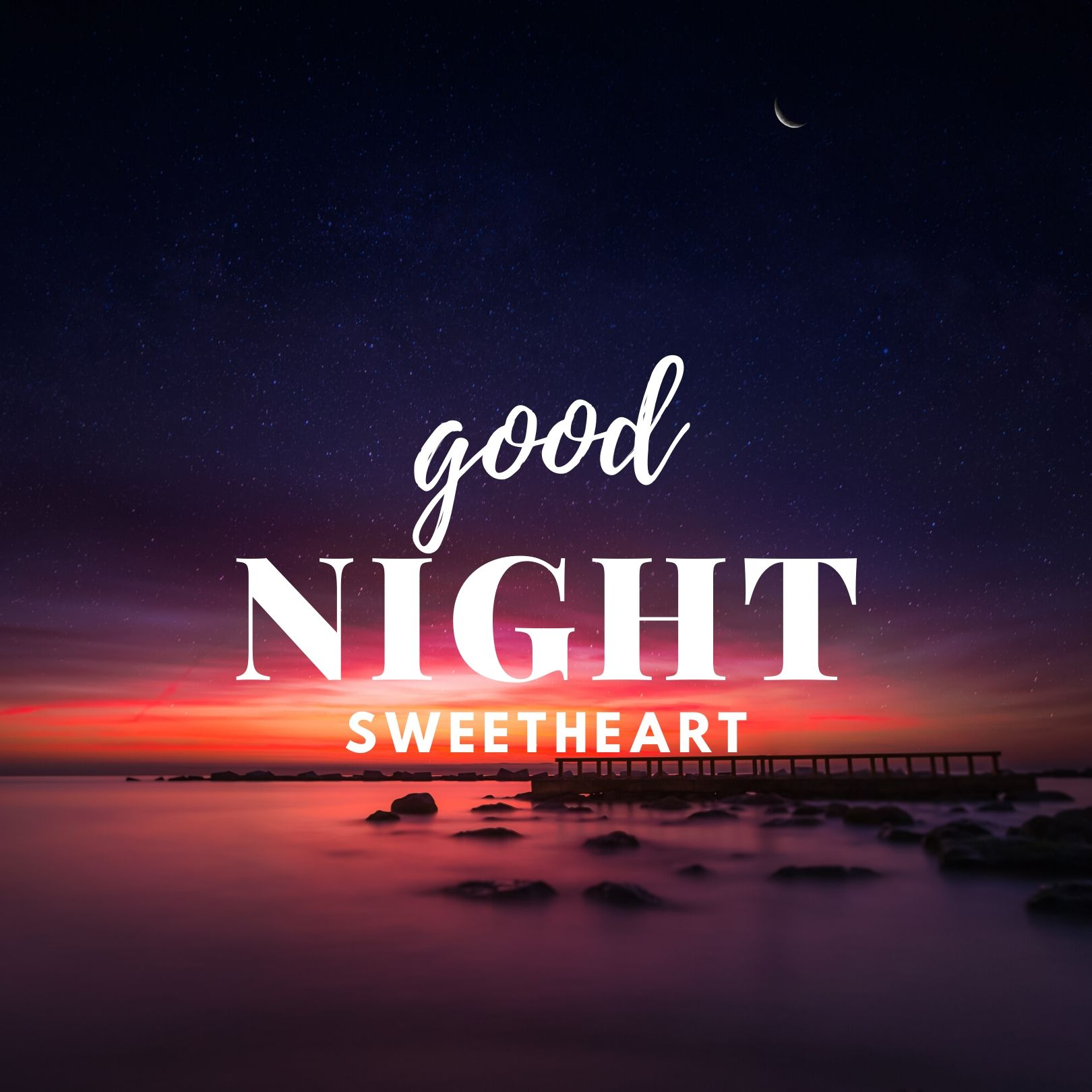 Good Night Sweetheart images full HD free download.