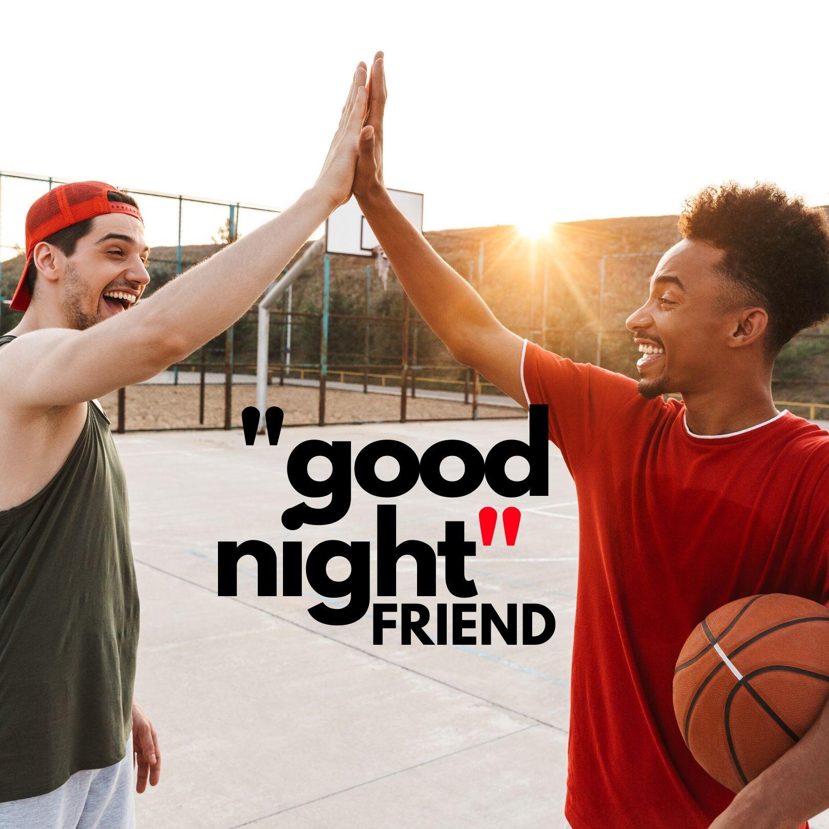 Good Night friend image hd full HD free download.