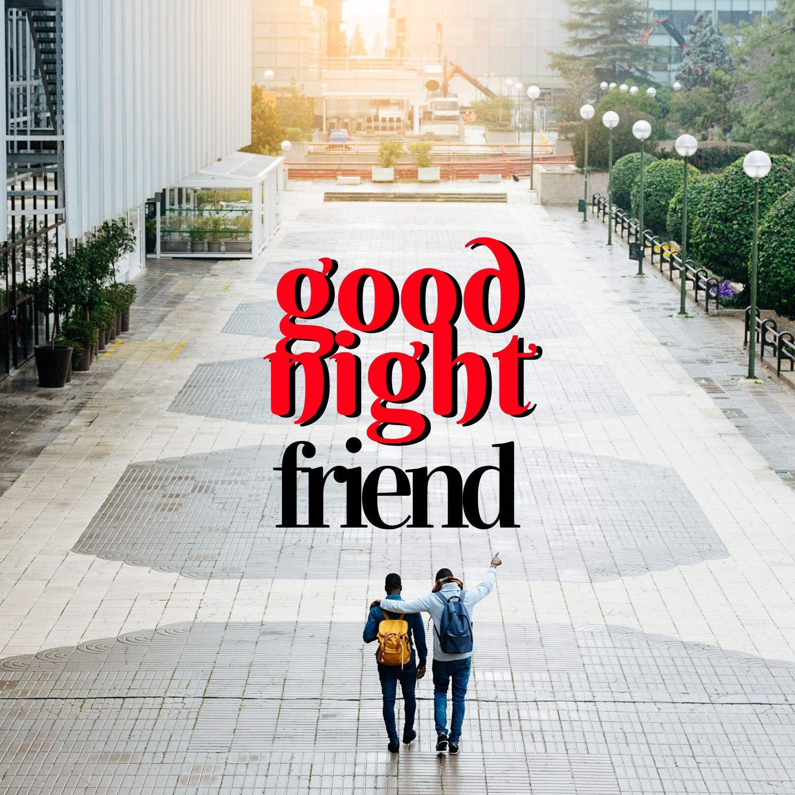 Good Night image for best friend full HD free download.