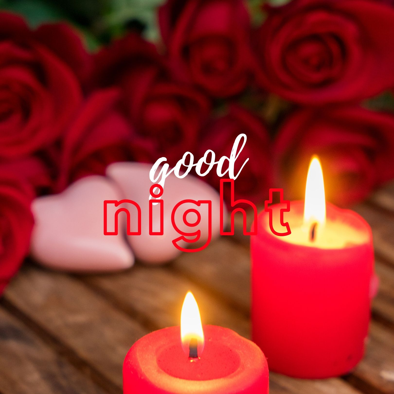 Good Night rose photo full HD free download.