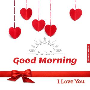 Good morning I Love You images full HD free download.