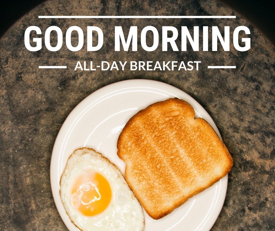 Good morning Image with Breakfast full HD free download.