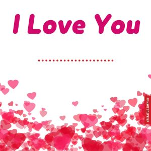 I Love You images write name full HD free download.