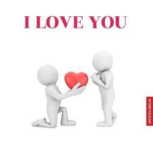 Images of I Love You full HD free download.