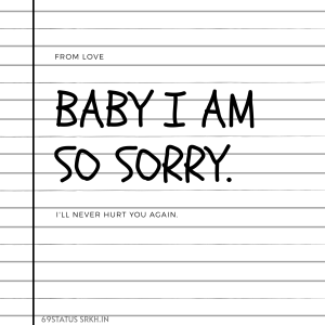 Sorry Love Picture HD Baby I Am So Sorry full HD free download.