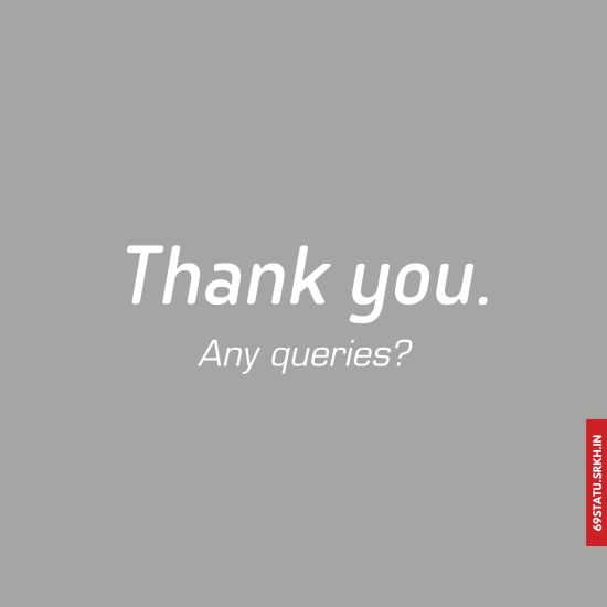 Thank You Any Queries Images for PPT HD