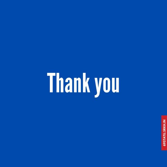 Thank You Images in Blue