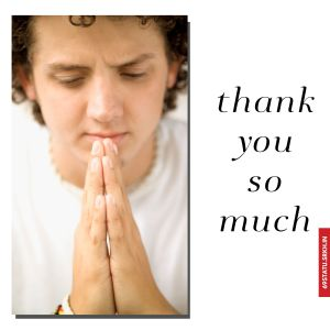 Thank You Images with Folded Hands full HD free download.