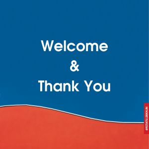 Welcome and Thank You Images full HD free download.