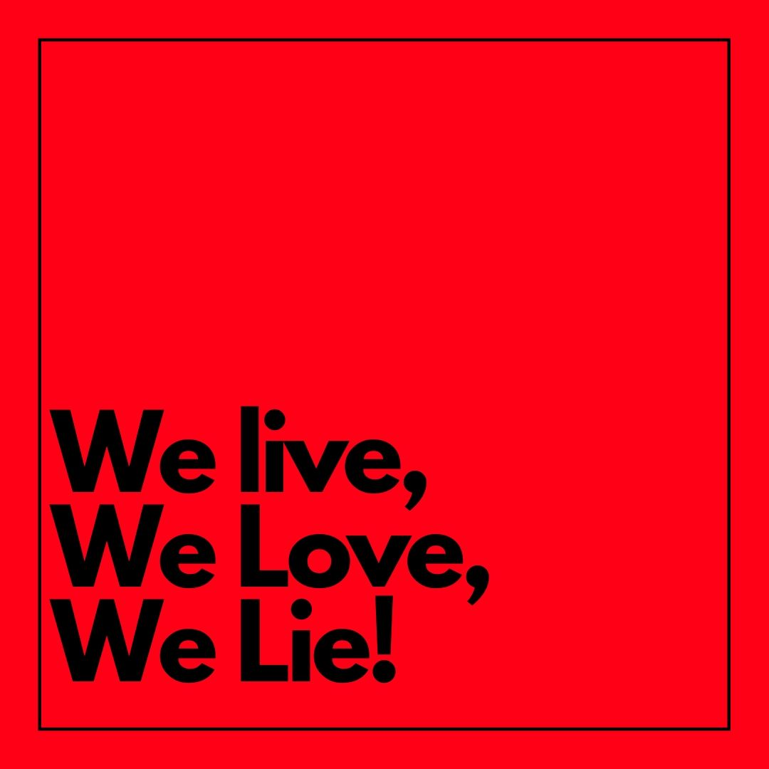 Whatapp Dp We live we love we lie image Alan Walker full HD free download.