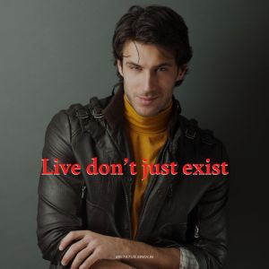 WhatsApp DP Image attitude for Boys Live Dont Just full HD free download.