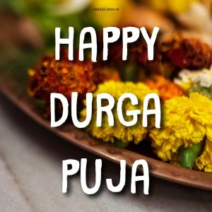 Durga Puja Good Morning Image full HD free download.