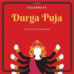 Durga Puja Greetings full HD free download.