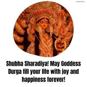 Durga Puja Wishes Image full HD free download.
