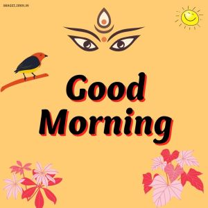Good Morning Durga Puja Images full HD free download.