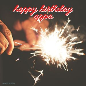 Happy Birthday Appa Images full HD free download.