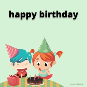 Happy Birthday Cartoon Images hd full HD free download.