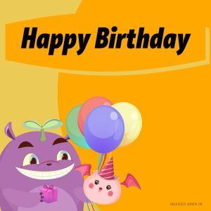 Happy Birthday Cartoon Images full HD free download.