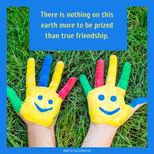 Thank You Images for Friends There is nothing on this earth more to be prized than true friendship full HD free download.
