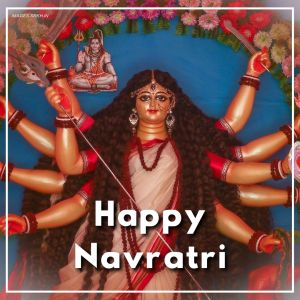 Happy Navratri Png Image full HD free download.