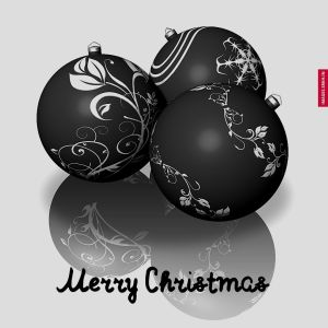 Christmas Images Black And White full HD free download.