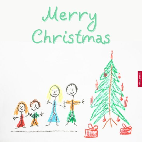 Christmas Tree Drawing Images