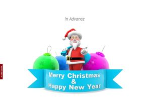 Happy Christmas In Advance Images full HD free download.
