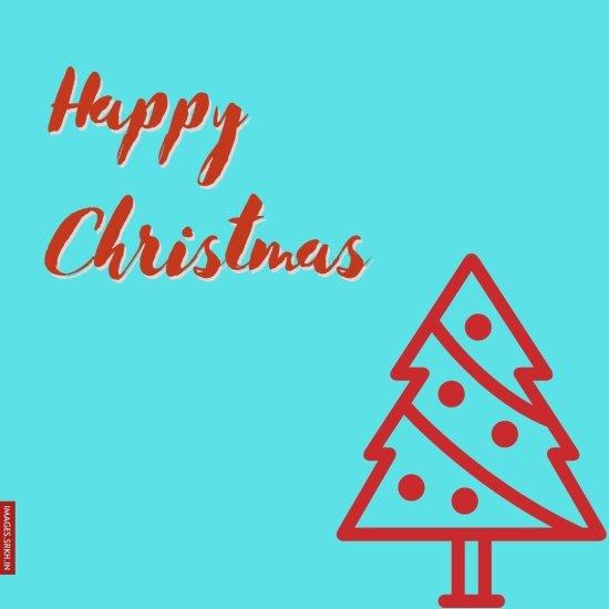 Image Of Christmas Tree Drawing