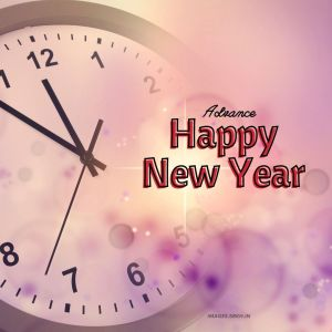 Advance Happy New Year in HD full HD free download.