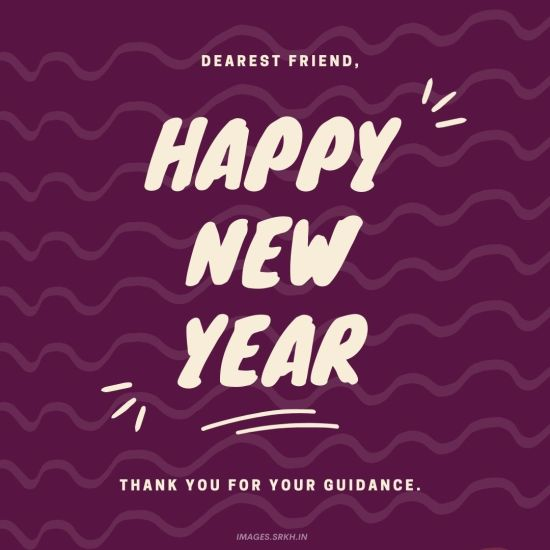 Happy New Year Wishes For Friends in HD