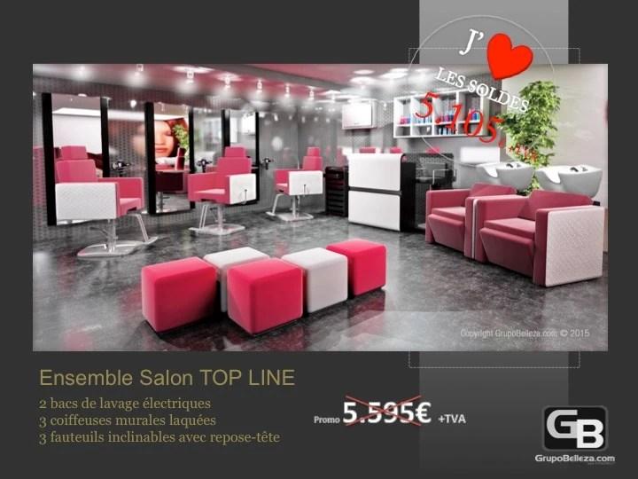 mobilier salon de coiffure salon complet top line plus