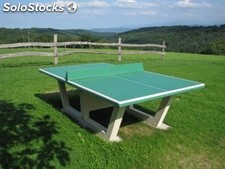 Table Ping Pong En Beton Arme Franco Promo
