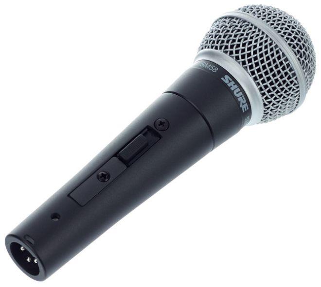 Shure SM58 S Mikrofon mit Schalter