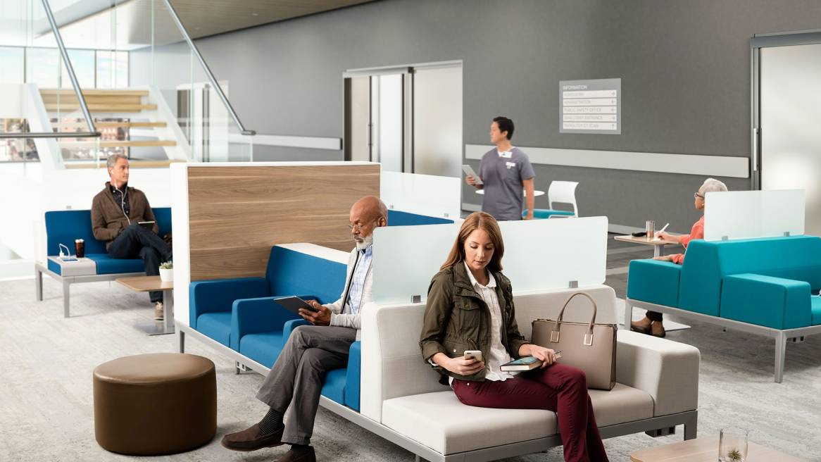 Healthcare Waiting Room Designs for the Patient Experience   Steelcase Improving the Healthcare Experience