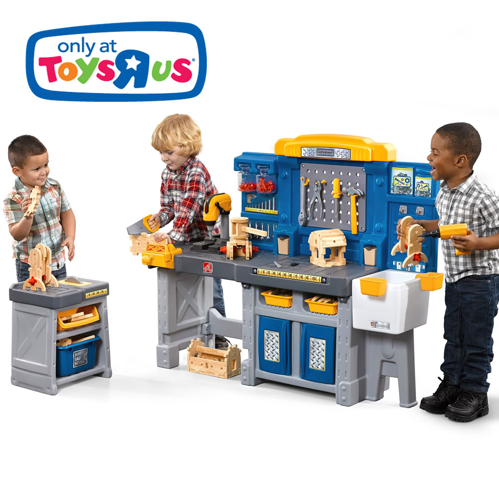 Just Like Home Pro Play Workshop Amp Utility Bench Kids
