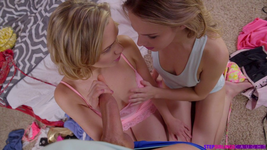 StepSiblingsCaught.com - Jillian Janson,Mia Malkova: I Caught My Step Sister And Her Friend - S1:E1