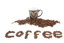 Free Coffee And Coffee Cup Royalty Free Stock Photo - 29492825