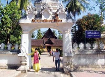 Chùa cổ Vientiane