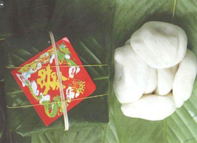 Bánh dày, tương đỗ - món quà quê Hà thành