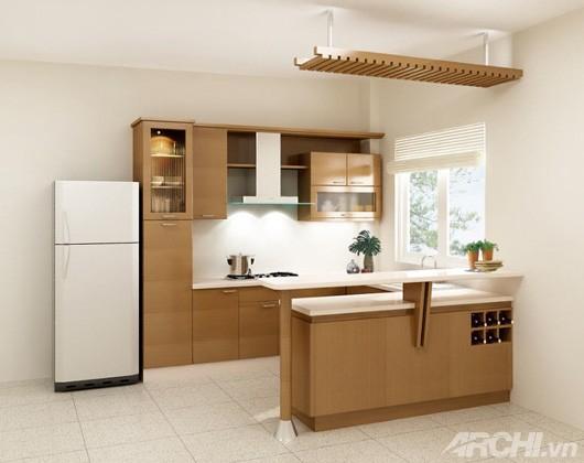 Phong thuỷ nhà bếp hiện đại - Archi