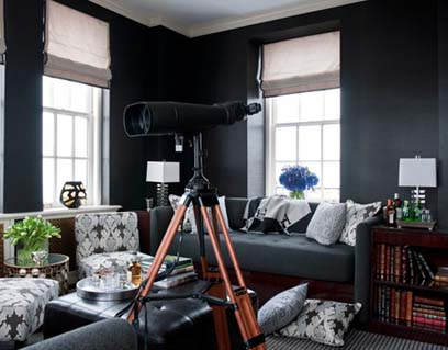 Không nên sử dụng nhiều màu đen khi trang trí nhà - Archi