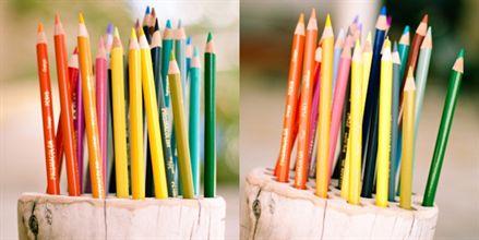 Góc học tập ấn tượng với hộp đựng bút chì handmade - Archi